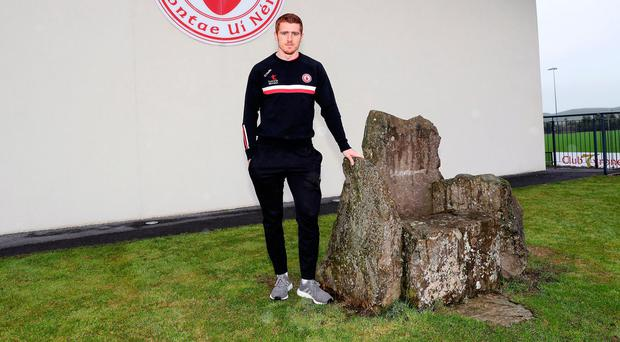 Second chance: Peter Harte is adamant that Tyrone will do themselves justice against Dublin this time around