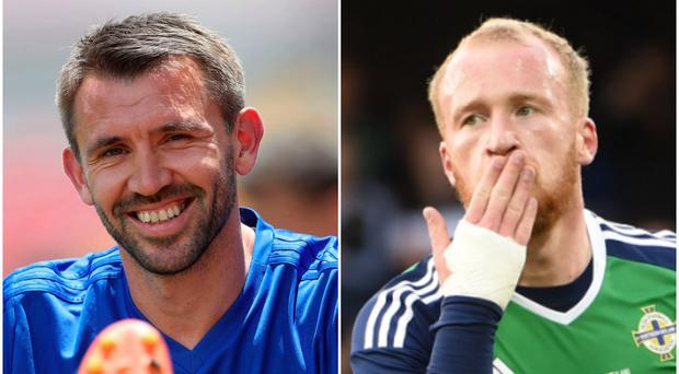 Gareth McAuley and Liam Boyce are attracting interest from the Championship.