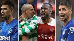 Rangers, Celtic, Arsenal and Chelsea have discovered their Europa League group stage opposition.