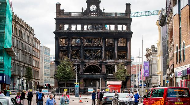 Anyone who has stood near the shell of the gutted Bank Buildings or has seen it in the media must feel sad