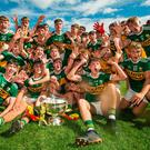 Party time: Kerry celebrate winning the All Ireland Minor Championship