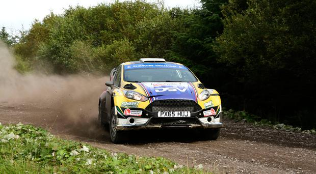 Winner: Josh Moffet in the Fiesta R5