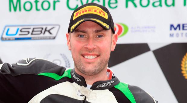 Superbike success: Gerard Kinghan