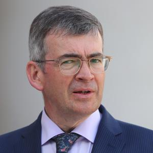 Drew Harris was appointed Commissioner of An Garda Siochana (Niall Carson/PA)