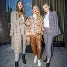 Ellen Lundy Rebecca Warnock Philippa Boyd The launch of Belfast Fashion Week takes place at the Fitzwilliam Hotel in Belfast on August 31st 2018 (Photo by Kevin Scott for Belfast Telegraph)