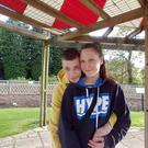 Kamil Rozyneck and Kinga Pelc at Lady Dixon Park just days before the accident