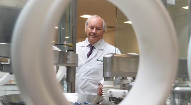 Dr Peter Fitzgerald,managing director of Randox Laboratories