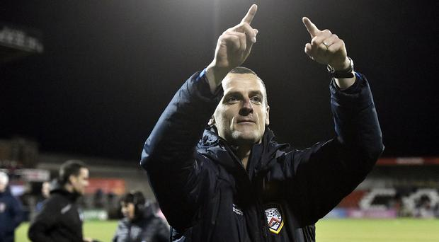 Could Oran Kearney return to Coleraine?