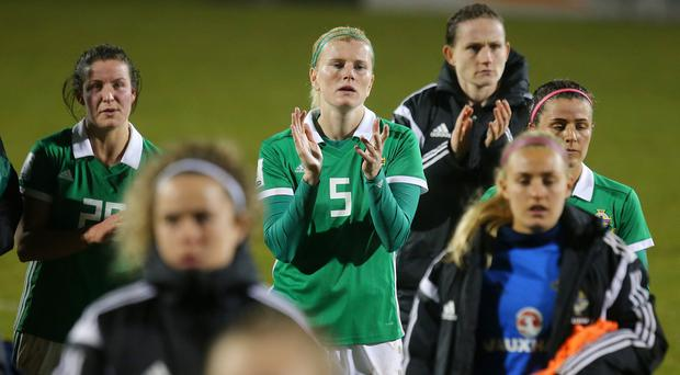Julie Nelson will reach 100 caps for Northern Ireland this evening, having inspired generations of footballers along the way.