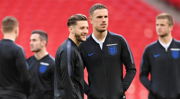 Adam Lallana and Jordan Henderson are in the England squad to face Spain.