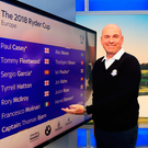 Squad goals: Thomas Bjorn with his Team Europe line-up