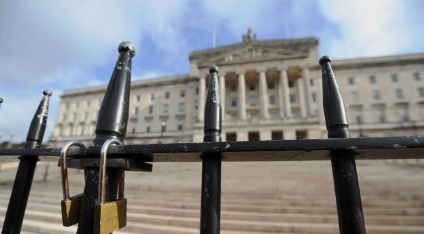 The Government is expected to make a significant statement on efforts to restore Stormont powersharing later. Niall Carson/PA.