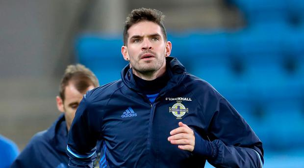 Solo mission: Kyle Lafferty wants to regain his form from the Euro 2016 qualifiers