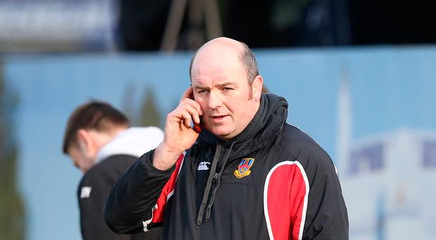 Step up: Ballymena coach Andy Graham