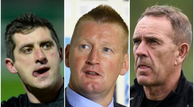 Declan Devine, Steve Lomas and Kenny Shiels are all names being touted as potential successors to Oran Kearney at Coleraine.