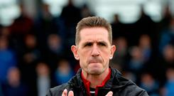 Cup hope: Stephen Baxter