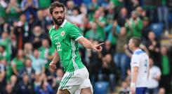 Will Grigg netted for Northern Ireland on Saturday.