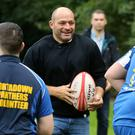 A Festival of Rugby to celebrate Dr Rory Best OBE's conferment with the Freedom of the Borough of Armagh City, Banbridge and Craigavon saw hundreds of players from across the borough head to the City of Armagh Rugby Club today - Credit: Kelvin Boyes / Press Eye.