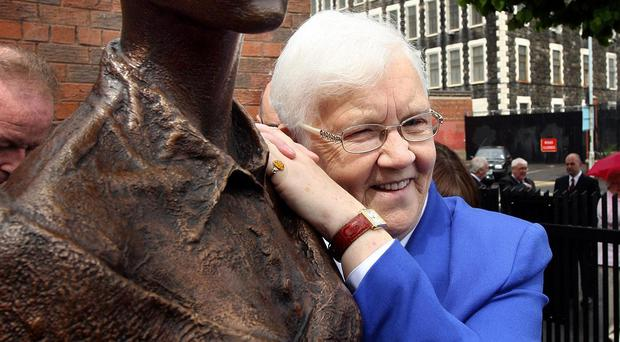 Baroness May Blood urged more women get involved in politics and campaigning (Paul Faith/PA)