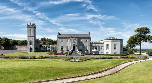 Historic: The Glenlo Abbey Hotel on the banks of Lough Corrib.