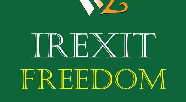 The logo of the Irexit Freedom group / Credit: Irexit Freedom