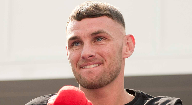 Confident fighter: Sean McComb
