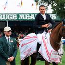 Sameh El Dahan rode Suma's Zorro to victory in the Rolex Grand Slam event.