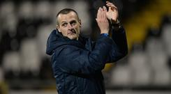 Oran Kearney has taken charge of St Mirren.