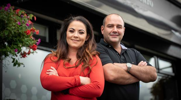 Owners Stephanie Gray and Darrel Stevenson have created 15 new jobs at Millside Restaurant in Cloughmills