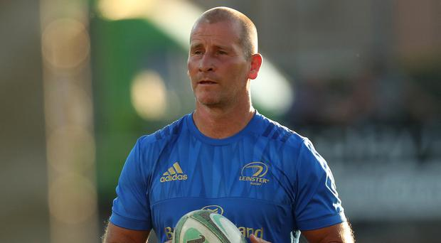 Staying put: Stuart Lancaster says he won't leave Leinster