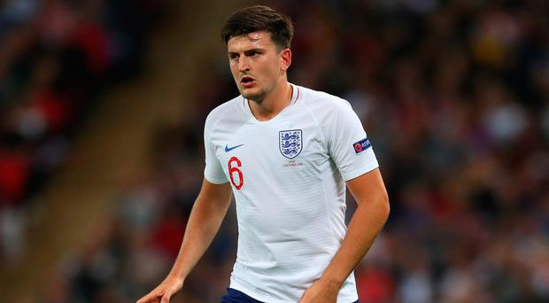 Upward curve: Harry Maguire has been in impressive form