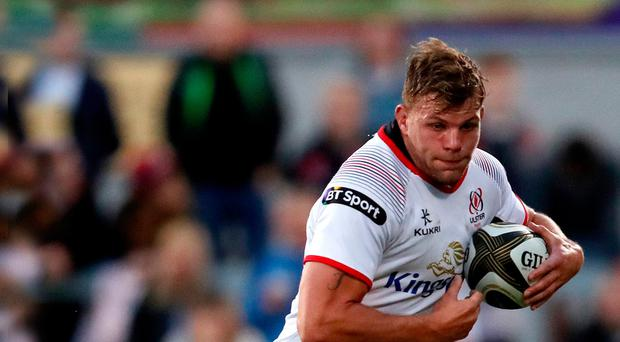Ruled out: Jordi Murphy will not make the trip to South Africa with Ulster