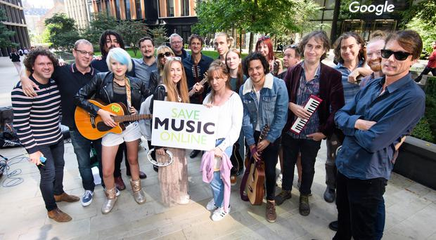 Record labels and musicians have been campaigning for the changes (Jonathan Hordle/PA)