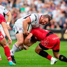 Experienced head: Prop Andy Warwick is closing in on a century of appearances for Ulster