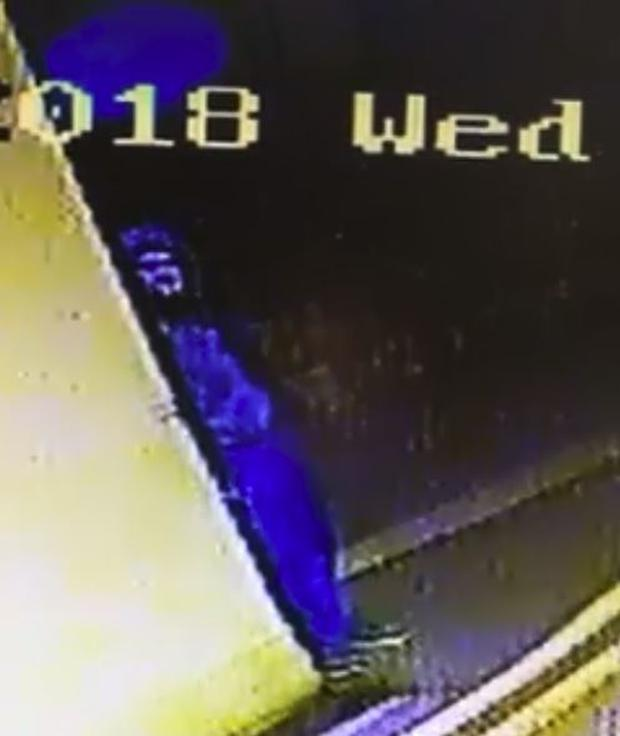 CCTV of a suspect has been circulated online.