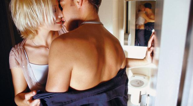 Man and woman kissing Marital Affair story by SG