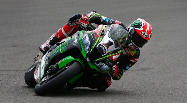 Old routine: Jonathan Rea is relishing his return after a break