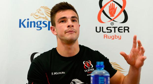 Fresh face: Teenager Iwan Hughes is determined to impress for Ulster 'A' against Scarlets tonight