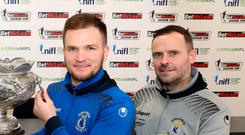 Fond farewell: Dungannon Swifts ace Ryan Harpur says Rodney McAree will be a big loss after his move to Coleraine