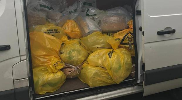 £3m worth of drugs confiscated by the PSNI. Credit: PSNI.