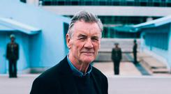 Michael Palin is visiting North Korea for a new two-part documentary