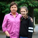 Daily battle: Ruby Couston and her mum Catriona