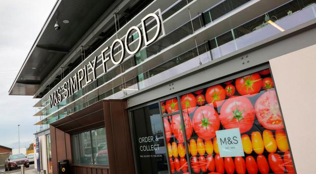 The new M&S food hall in Craigavon