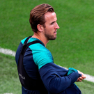 Tough time: Spurs ace Harry Kane has gone four games without a goal