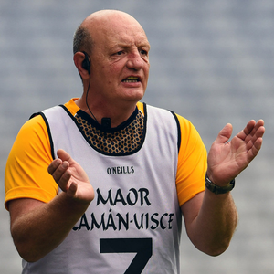 Walking away: Terence McNaughton has grown frustrated with players not keen to represent Antrim