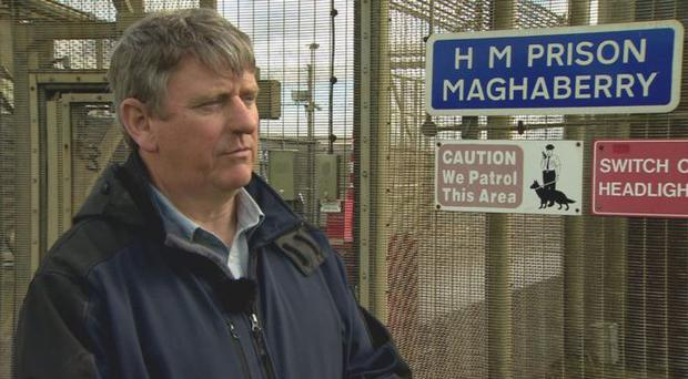 Paul McConville has said he wants answers about the death of his son while in custody. Credit: BBC