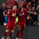 Liverpool's Daniel Sturridge nodded home the opening goal, getting on the end of a top drawer Andrew Roberton cross.
