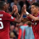 Daniel Sturridge and Roberto Firmino were both on target for Liverpool.