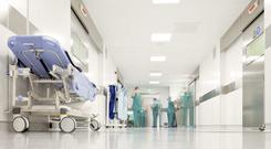 There are not enough hospital beds here to ensure patient safety, a leading medic has warned