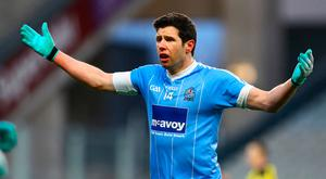 Sore one: Sean Cavanagh was left with facial injuries after a weekend club game incident